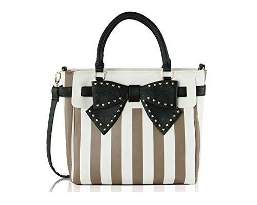 Belted Tote Handbag - 5