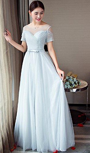 Vimans -  Vestito  - linea ad a - Donna Blue3 46