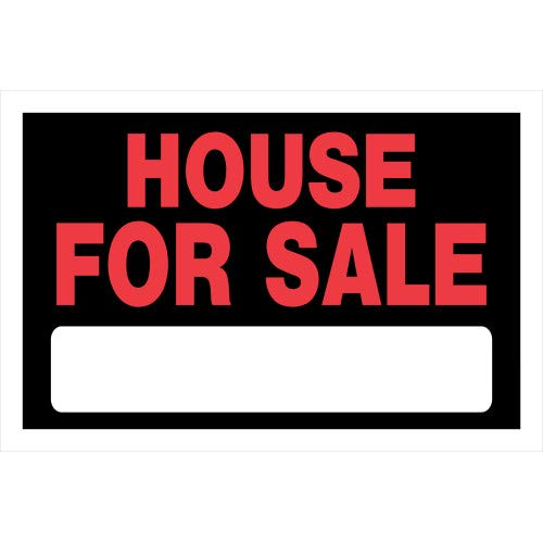 Best Unknown Home Decor Home Decor Reflective Tapes - Hillman 839936 House for Sale Sign