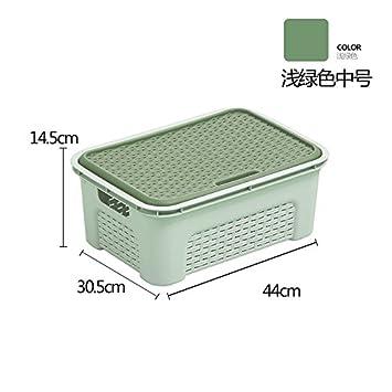Tianliang04 Aufbewahrungs Boxen Kuche Kunststofflagerung Korbe Mit