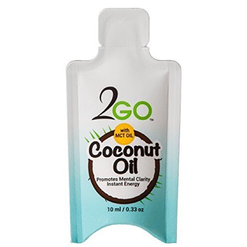 2GO Coconut MCT Oil Packets