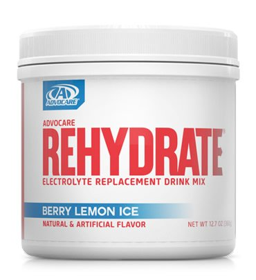 Advocare Rehydrate Electrolyte Replacement Drink Mix Fruit Punch   Oz
