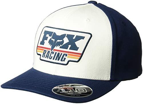 Fox Men's 110 Curved Bill Snapback Hat, Navy1, OS