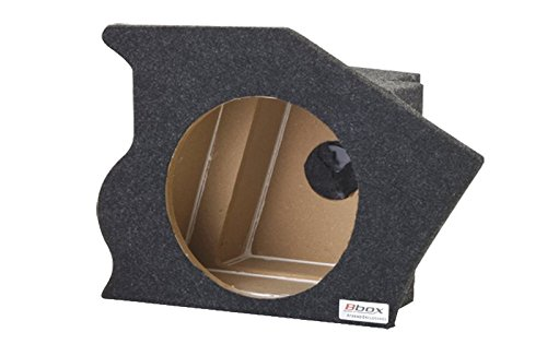 Bbox CF9302C Single 10 Sealed Carpeted Subwoofer Enclosure Fits 1993-2002 Chevrolet//Pontiac Camaro//Trans-Am