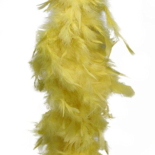Deluxe Large Yellow 72 Costume Accessory Feather Boa [Apparel]