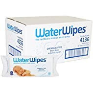 WaterWipes Sensitive Baby Wet Wipes, Natural & Chemical-Free...
