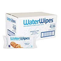 WaterWipes Sensitive Baby Wet Wipes, Natural & Chemical-Free, 12 packs of 60 ...