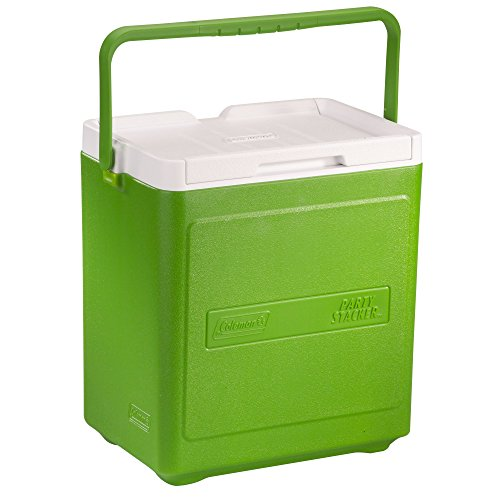18 Can Cooler (Coleman 20 Can Party Stacker Cooler, Green)