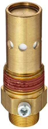 "Control Devices Brass In-Tank Check Valve, 1"" Tube Comp. x NPT Male"