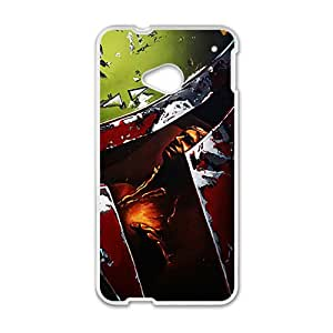 Star Wars Boba Fett White Phone Case For HTC M7