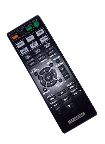 Replaced Remote Control Compatible for Sony HBD-DZ175 DAVDZ340 DAV-TZ510 HBDDZ730 HBD-TZ715 AV Audio/Video Receiver Home Theater System