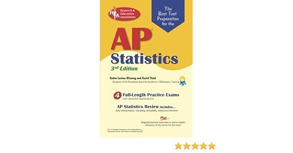 AP Statistics NEW 3rd Edition Advanced
