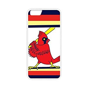 St. Louis Cardinals LOGO Custom Case for iPhone6 4.7 (Laser Technology)