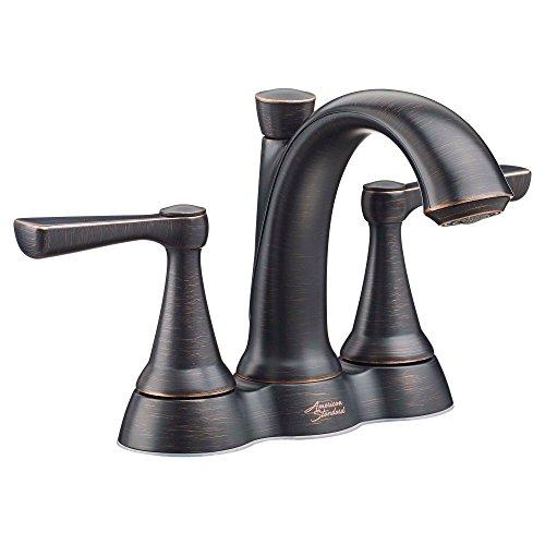 (American Standard Kempton 4 in. Centerset 2-Handle Bathroom Faucet in Legacy Bronze )