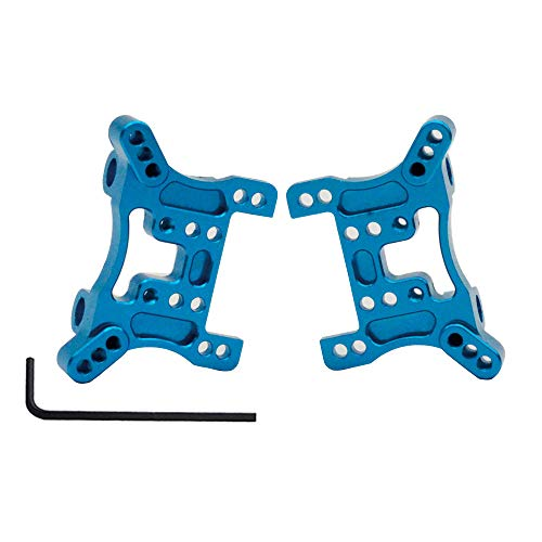 - DiDi/iRC Upgrade Parts Durable Aluminum Shock Absorber Board Set Rear/Front Shock Tower Plate for Upgrading RC 1:18th Wltoys A949 A959 A969 A979 2PCS