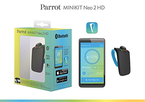 parrot minikit neo 2 hd voice controlled portable. Black Bedroom Furniture Sets. Home Design Ideas