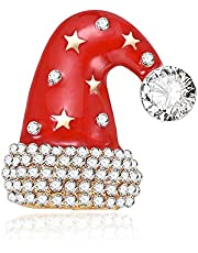 RuleaxAsi Fashionable Cute Festival Alloy Breastpin Lovely Unique Decorative Brooch Delicate Christmas Halloween Ornament Gift