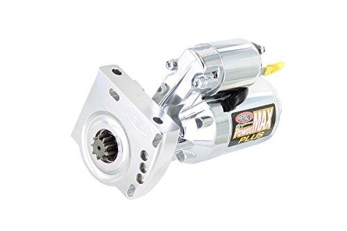 (Powermaster Performance 19009 Chrome Alternator (Chevy, Pont, LXS Engine GMC LS Truck 4.8L,5.3L,6.0L 168T Flywheel 1.4 kw))
