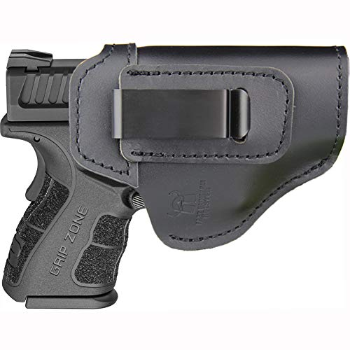 IWB Holster Fits: XD MOD.2 3″ 3.3″ SUB Compact Model 9mm .40sw .45ACP / XD 3″ / Xdm 3.8″ Compact and Full Size/XDS 3.3″ Single Stack/XDE 3.3″ - Inside Waistband Concealed Carry Pistols Holster