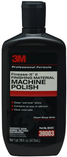 3M 39003 Finesse-it II Finishing Material Machine Polish - 16 fl. oz.