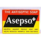 Asepso+ the Antiseptic Soap, 2.8 Oz / 80 G (Pack of 8)