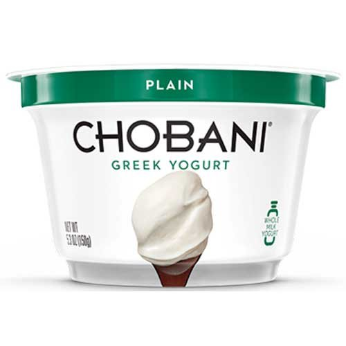 chobani yogurt plain - 5