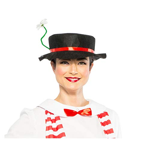 Largemouth Women's English Nanny Poppins Costume Hat Daisy