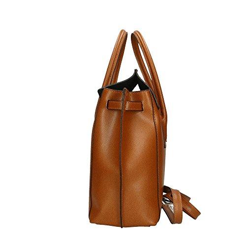 In Pelle Aren Vera Cuoio Donna Mano Italy Handbag Made A Da 34x31x10 Borsa Cm w4YwB8