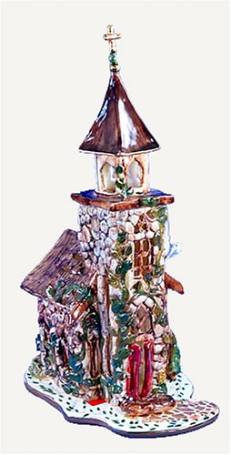 Church of the Rock Stone Candle House by: Clayworks / Blue Sky