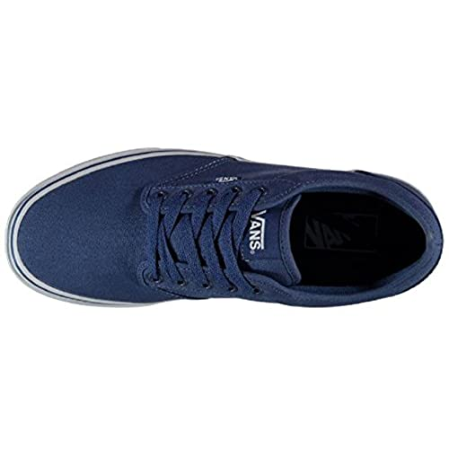2f390325d6b Mens Vans Atwood Canvas Trainers Shoes STV Navy White delicate ...