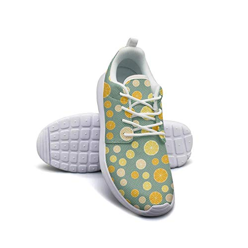 Hobart dfgrwe Lemon and Orange Slices Girl Skateboard Casual Shoes Sneakers Fashion Basketball Shoes