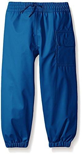 Hatley Childrens' Splash Pants, Classic Navy,8