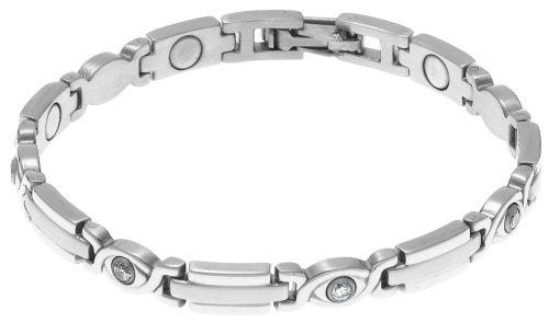 Sabona Executive Silver Magnetic Bracelet product image