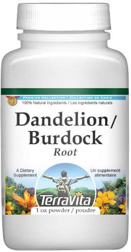 Dandelion Root and Burdock Root (Burdock Root Powder)