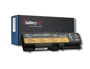 Batterytec® Batería para Lenovo ThinkPad Edge 14 Edge 15,ThinkPad L412 L512 SL410 SL510 T410 T410i T420 T510 T510i T520 W510 [10.8V 4400mAh, 12 meses de garantía]