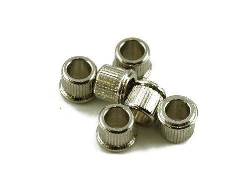 Kluson Adapter Bushings (Set 6) (1/4 inch ID) MB65N-LUS Nickel