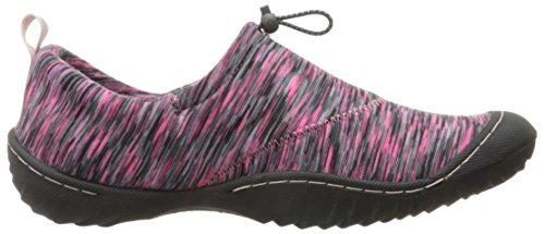 Women's by JSport Jambu Pink Multi Clare Flat x88En