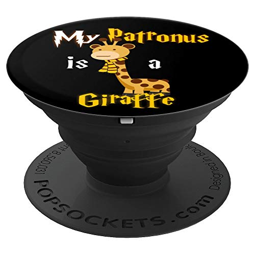 My Patronus is a Giraffe - Cute and adorable Gift - PopSockets Grip and Stand for Phones and Tablets