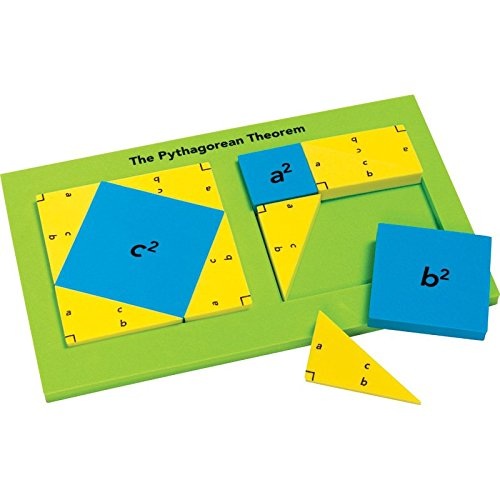 Didax Educational Resources Pythagorean Theorem Tile Set