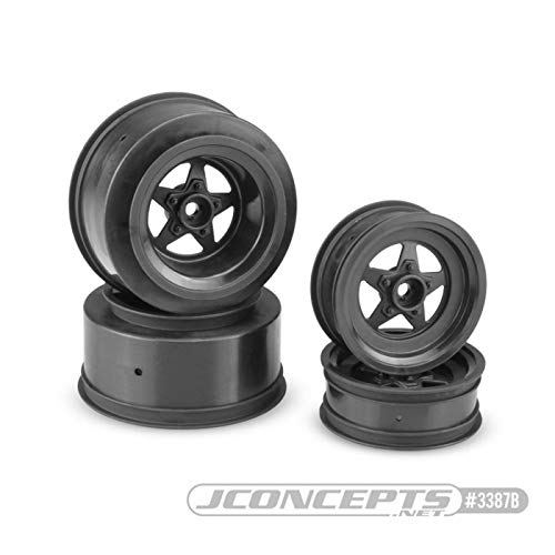 JConcepts JCO3387B Startec Street Eliminator wheel Black: Slash Slash 4x4 ()