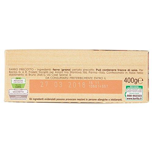 BARILLA Placa Caliente Deletreada Y Frío 10 Minutos De Cocción 400 Gramos: Amazon.es: Alimentación y bebidas