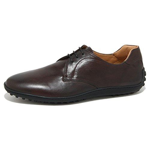 0922O scarpa allacciata CAR SHOE marrone scarpe uomo shoes men Marrone