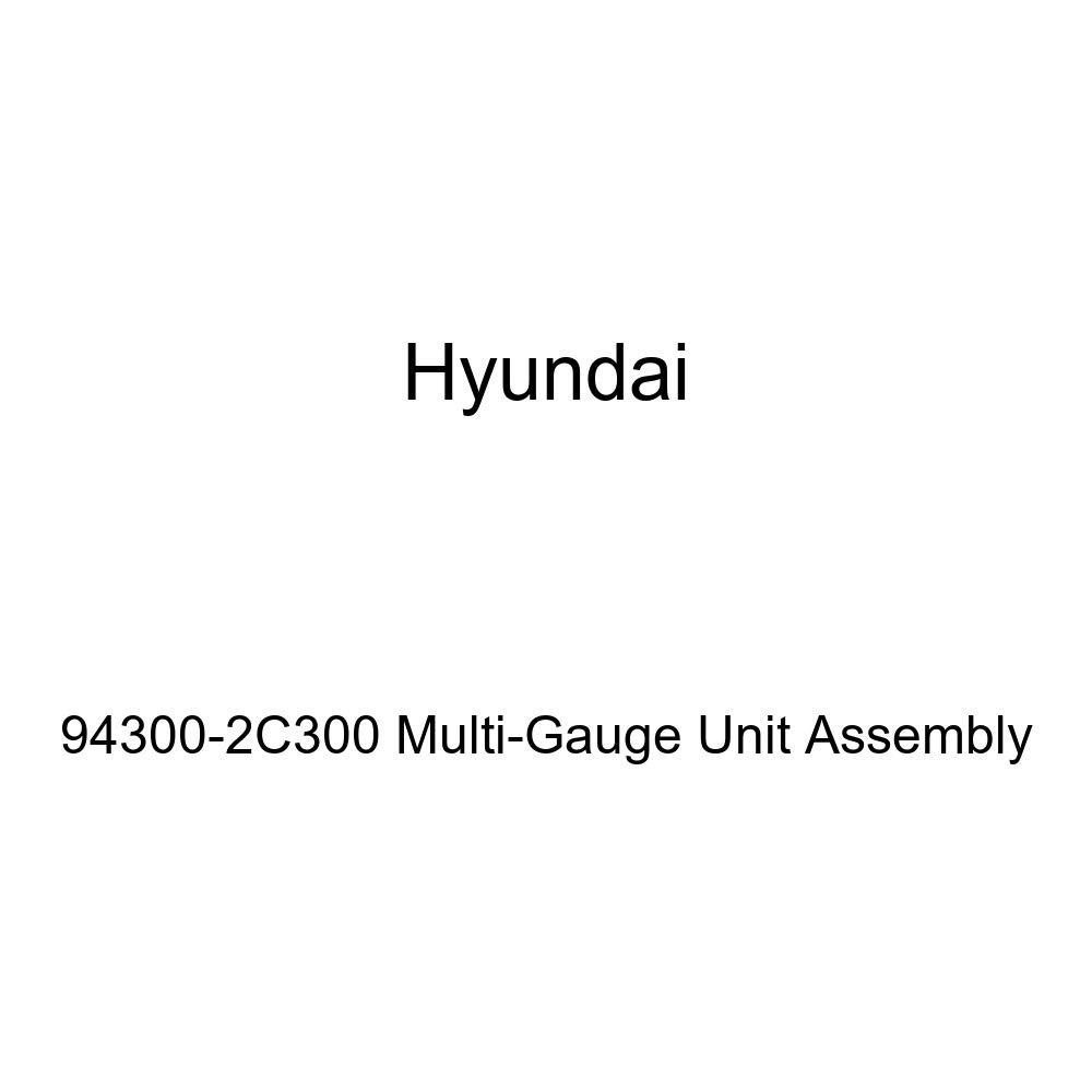 Genuine Hyundai 94300-2C300 Multi-Gauge Unit Assembly