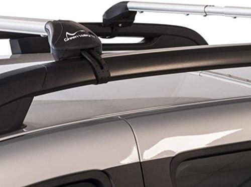 Barre PORTATUTTO Portapacchi Sherman XL per Volkswagen TIGUAN Cross dal 2014 in Poi con Railing CORRIMANO Tradizionali Aperti