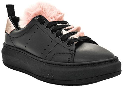Stokton fur Burma nero Cipria Vit Noir fUanxgfr