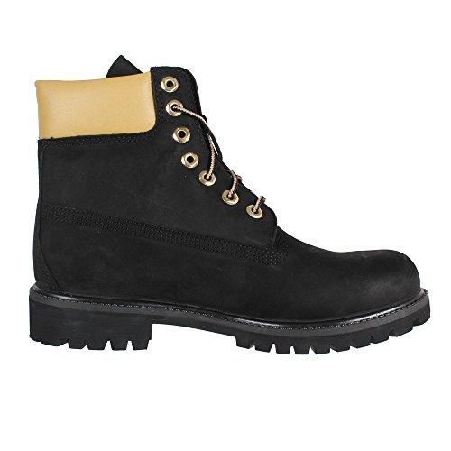 Timberland 6-Inch Premium Waterproof Herren Boot A1471 Black Gold Reflective