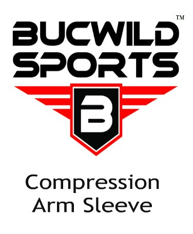 1 Pair Bucwild Sports Arm Cooling Sun Protection Compression Arm Sleeves – Youth & Adult Sizes – Baseball Basketball Golf Tennis Running – DiZiSports Store