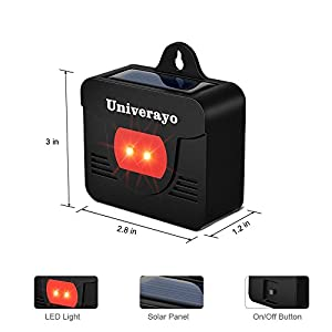 Univerayo ZN-302 4pack Update Deer Fox Rpellent