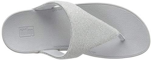 Sandalias Con Silver Puntera Lottie™ Fitflop Brillante En Plata 5ZwU7nSxq