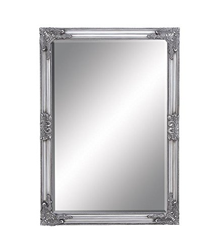 Deco 79 92763 Framed Bevelled Mirror 28 by 40 28 by 40 UMA Enterprises Inc.